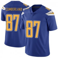 Jeff Cumberland Los Angeles Chargers No.87 Limited Color Rush Vapor Untouchable Jersey - Royal