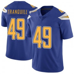 Youth Drue Tranquill Los Angeles Chargers No.49 Limited Color Rush Vapor Untouchable Jersey - Royal
